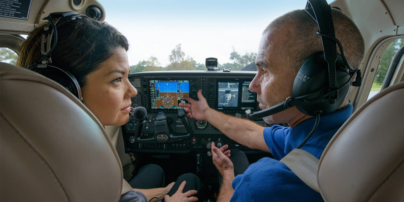 Bachelor of aviation Pilot training